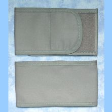 Plain Wrap Armband - Grey